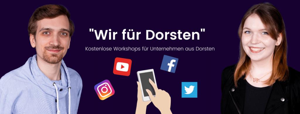 """Beitragsbild des Artikels zur Aktion """"Wir für Dorsten"""""""