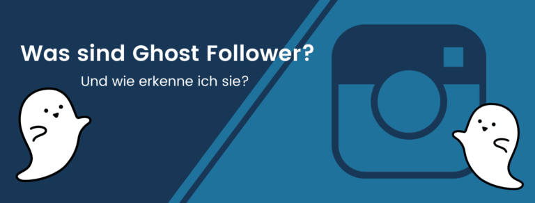 Beitragsbild: Was sind Ghost Follower und wie erkenne ich sie?
